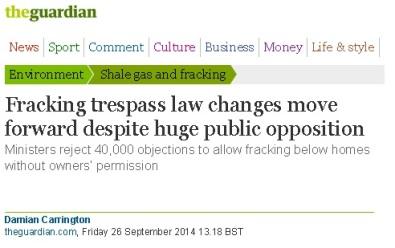 Fracking Law